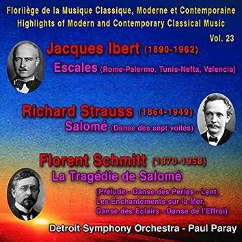 Jacques Ibert, Richard Strauss, Florent Schmitt - Florilège de la Musique Classique, Moderne et Contemporaine - Highlights of Modern and Contemporary Classical Music