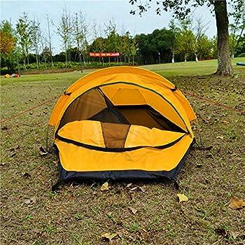 Pceewtyt Tente Biwak ultra légère pour une personne - Sac à dos - Tente bivouac étanche - Pour le camping, les voyages en plein air