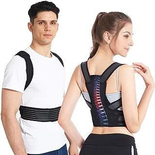 Slimerence Posture Corrector for Men and Women Adjustable Posture Brace for Back Support with Scoliosis Humpback Correction Belt, Improve Straight Back Kyphosis & Bad Posture