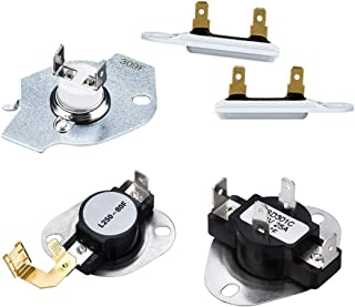 3387134 Dryer Cycling Thermostat3392519 3977393 Dryer Thermal Fuse 3977767 Dryer Thermostat Compatible with Maytag Whirlpool Kenmore Dryer ReplacementPart by AMI