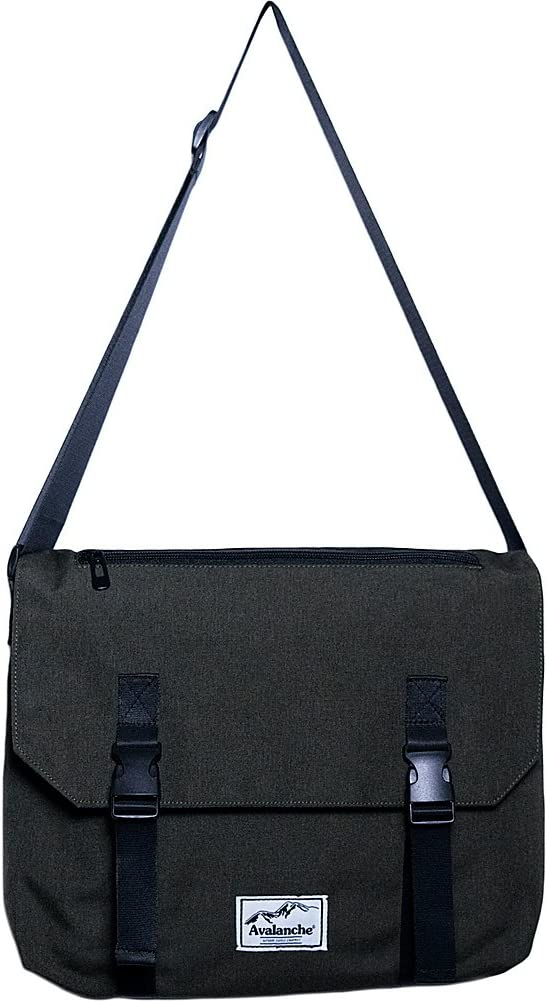 Concept One Avalanche Quincy Messenger Bag Grey One Size
