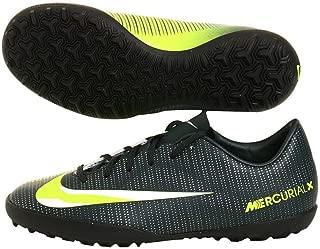 Nike Kids MercurialX Victory VI CR7 Turf Soccer Shoes Seaweed/Volt/Hasta/White Soccer Shoes