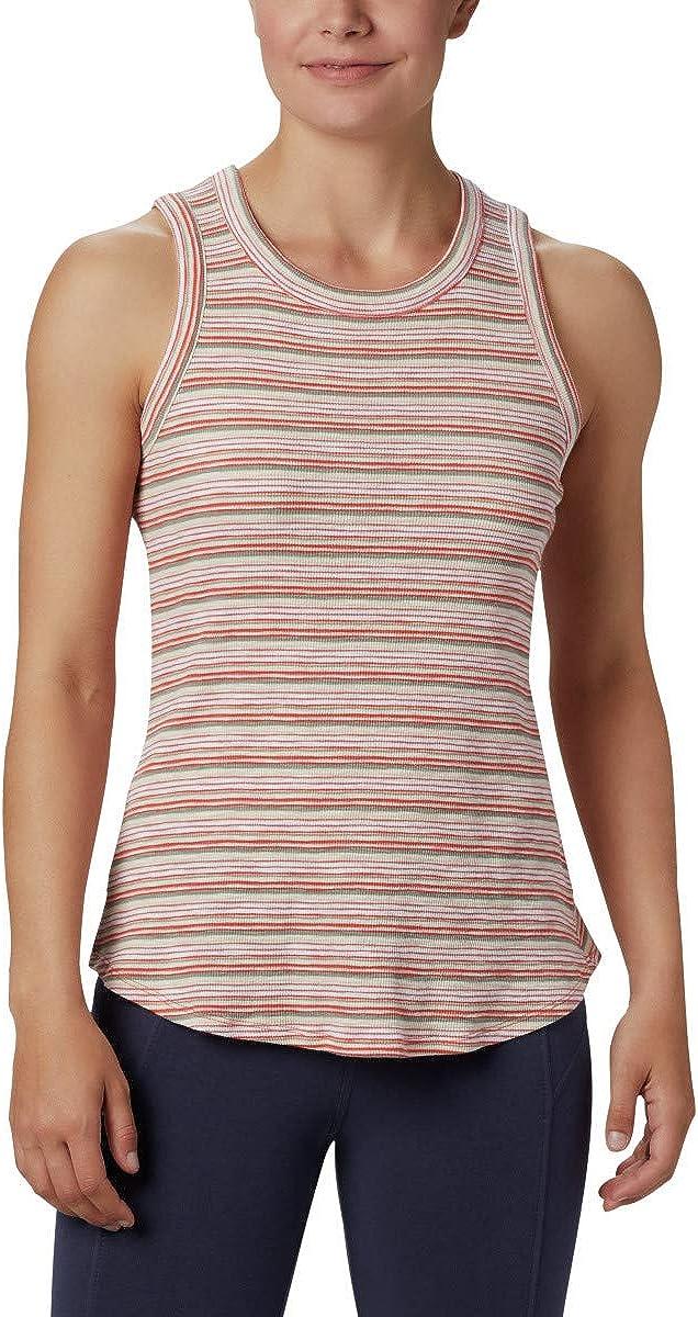 Columbia Women's Longer Days Tank, Cotton Blend, Comfort Stretch