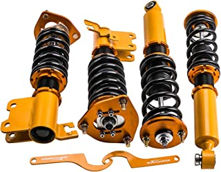 Coilovers for Nissan S13 Silva 89-93/180SX 89-98/Sileighty 98/200SX 89-94/240SX 89-90 Suspension Coil Spring Shock Struts Adjustable Height