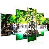 Quadro Budda Feng Shui 200 x 100 cm - XXL Immagini Murale Stampa...