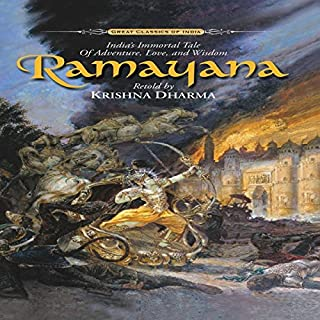 Ramayana audiobook cover art