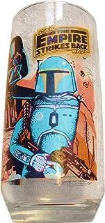 Vintage 1980 Star Wars The Empire Strikes Back Burger King Limited Edition Darth Vader and Boba Fett Glass