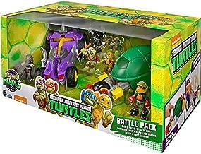 Nickelodean Teenage Mutant Ninja Turtles Half Shell Heroes TMNT Battle Pack Rare Box Set
