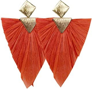 Best raffia statement earrings Reviews