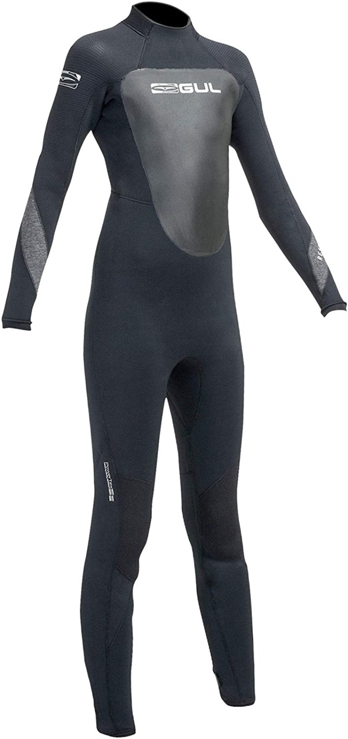 Gul 2016 Junior Response 4 3mm Wetsuit in Black RE1249-A9