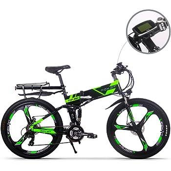 RICH BIT Bicicleta de Montaña Eléctrica, Unisex Adulto, Urbana ...