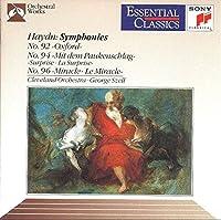 Haydn;Symphonies 92,94,96
