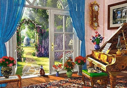 Castorland CSC104079 Doorway Room View, 1000 Teile Puzzle, Bunt