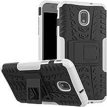 Galaxy J7 2018 Case, Galaxy J7 Refine/Galaxy J7 V 2nd Gen/Galaxy J7 Star/Galaxy J7 Aero / J7 Top Case, Dooge Dual Layer Protective Bumper Impact Rugged Shockproof Case Galaxy J7 2018