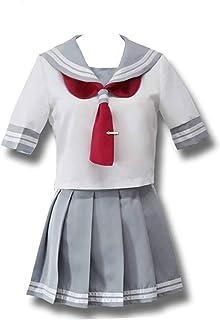 XCJLW Love Live!Sunshine!Aqours Takami Chika Cosplay Costume for Girls Women Suit Dress Uniform