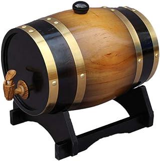 Bois 1.5L/3L/5L/10L/20L/25L/30L/50L Seau De Stockage en Chêne, Distributeur De Seaux à Whisky pour Conserver Les Spiritueu...