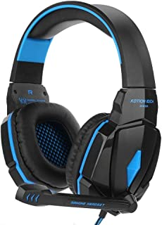KOTION EACH G4000 USB 3.5mm Gaming headphone With Microphone Stereo Bass Gamer Headsets LED Lights