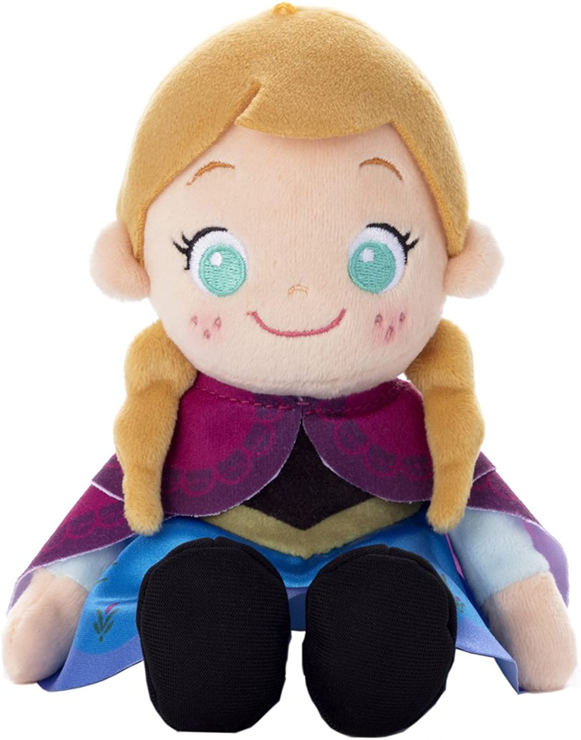 Disney Characters Beans Collection Ana Stuffed Toy Sitting Height 14cm