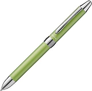 ぺんてる 多機能ボールペン ビクーニャEX BXW1575K ライムグリーン