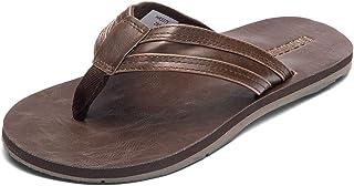 HOBIBEAR Men Flip Flop Thong Sandals Comfort Lightweight Slippers