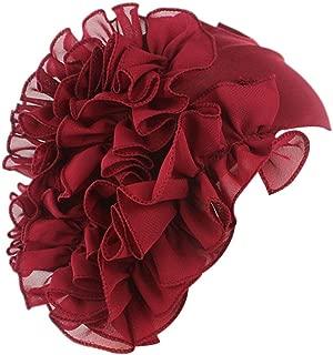 HYIRI Beach Golf Women Flower Cancer Chemo Hat Beanie Scarf Turban Head Wrap Cap Headband