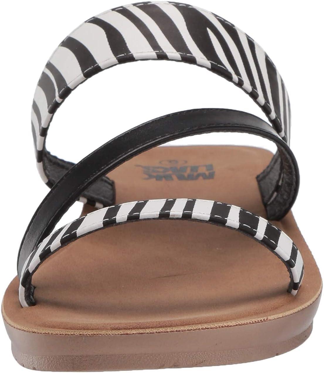 MUK LUKS Women's Dahlia Strap Sandal-Black