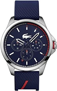 Lacoste Men's Blue Dial Silicone Band Watch - 2010979