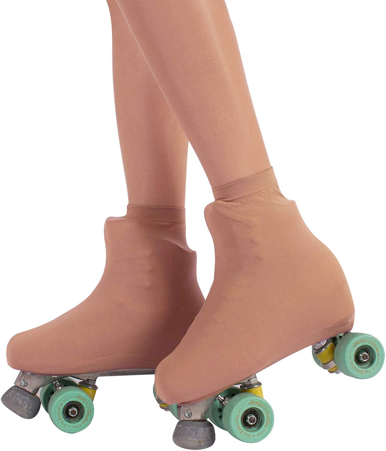 Peace Love Beach Boot Covers for RollerSkates and Ice Skates S L M