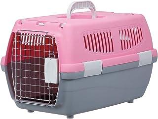マルカン 2ドアキャリー ピンク 小型犬・猫用 M サイズ