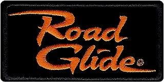 Harley-Davidson Embroidered Road Glide Emblem Patch, Small 4 x 2 in. EM1056642