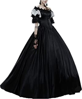 Womens Marie Antoinette Rococo Ball Gown Gothic Victorian Dress Costume