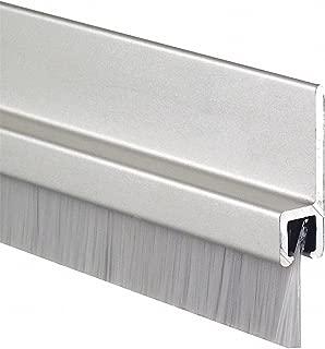 Double Door Weatherstrip, Nylon, 7ft L