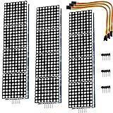 AZDelivery 3 x MAX7219 8x32 4 en 1 Dot LED Matrix Display Modulo de Pantalla compatible con Arduino con E-book incluido!