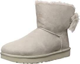 UGG Women's Classic Mini Fluff Bow Boot