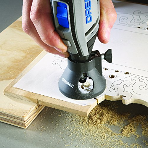 Product Image 11: Dremel 4300-5/40 High Performance Rotary Tool Kit with LED Light- 5 Attachments & 40 Accessories- Engraver, Sander, and Polisher- Perfect for Grinding, Cutting, Wood Carving, Sanding, and Engraving