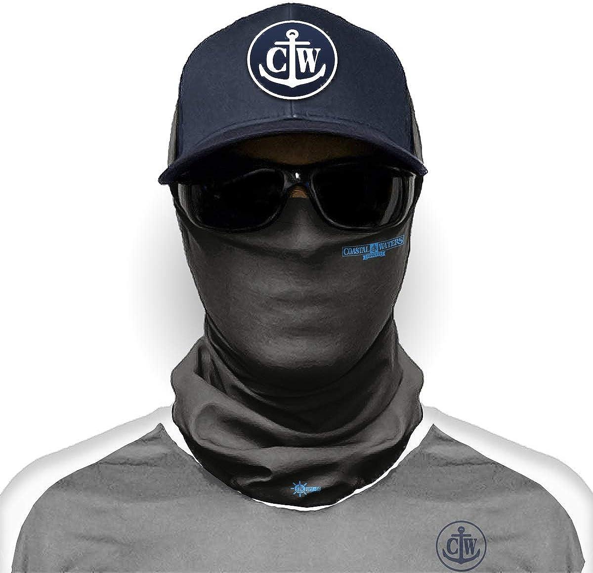 Neck Gaiter Face Mask - UPF 50 Sun Protection Cover, Biking, Cycling & Fishing