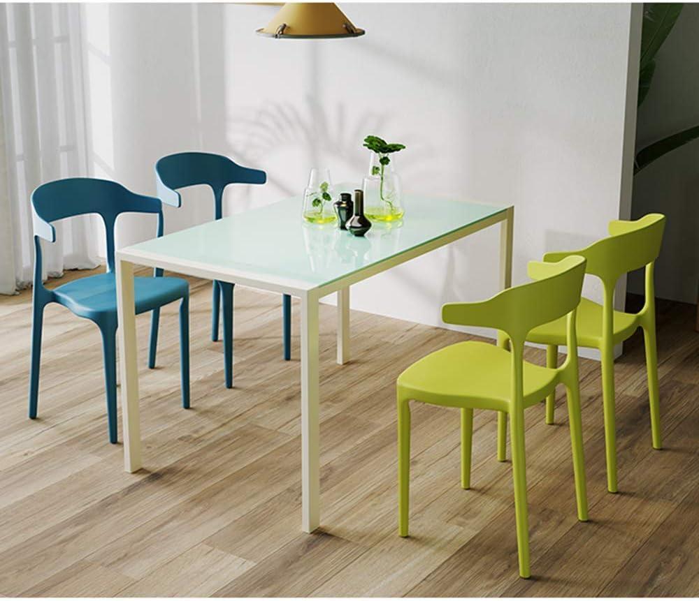 HTL Salle À Manger Chaise de Bureau, de Cuisine Chaise, Jardin En Plastique Lombo Chaise, Chaises Design Ergonomique, Soutien Lomre,Je C