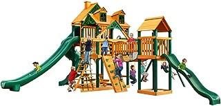 Gorilla Playsets Malibu Treasure Trove II Swing Set w/Natural Cedar