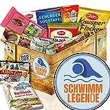 Schwimmlegende / Ossi Schokolade / Geschenk Taucher
