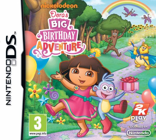 Dora's Big Birthday Adventure (Nintendo DS) [Edizione: Regno Unito]