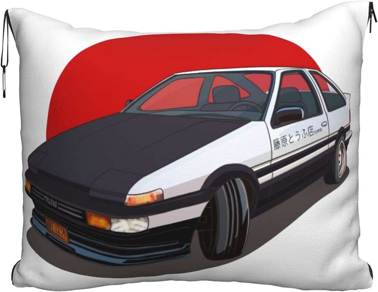 Initiald Travel Blanket and Pillow Set - 2 Velvet in 1 Sale SALE% OFF + NEW before selling ☆ Flannel