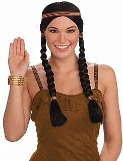 Native American Princess Wig - Adult Std.