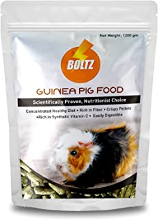 Boltz Premium Guinea Pig Food,Nutritionist Choice (ISO 9001 Certified)-1200 gm