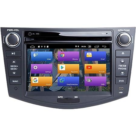 Für Toyota Rav4 2006 2012 Android 10 0 Octa Core 4 Gb Ram 64 Gb Rom Double Din 7 Auto Dvd Player Multimedia Gps System Unterstützung Auto Auto Play Tpms Obd Radio Navigation
