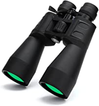 BORWOLF High Magnification HD Professional Zoom 10-30X60 Binoculars 10-380X100 Telescope