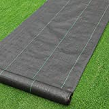 · Petgrow · Heavy Duty Weed Barrier Landscape Fabric for Outdoor Gardens, Non Woven Weed Blockr Fabric - Garden Landscaping Fabric Roll - Weed Control Fabric in Rolls(4FTx100FT)