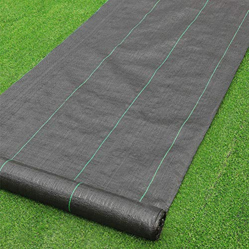 · Petgrow · Heavy Duty Weed Barrier Landscape Fabric for Outdoor Gardens, Non Woven Weed Blockr Fabric - Garden Landscaping Fabric Roll - Weed Control Fabric in Rolls(3FTx100FT)