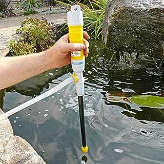 Good Ideas 482 Pompe à eau à piles Permet de transférer les liquides/les eaux de crue de votre maison ou votre jardin