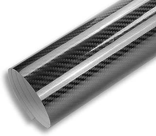 TECKWRAP 1ft x 5ft 5D High Gloss Black Carbon Fiber Vinyl Bubble Free Air Release Car Wrap Film Automotive DIY Decals