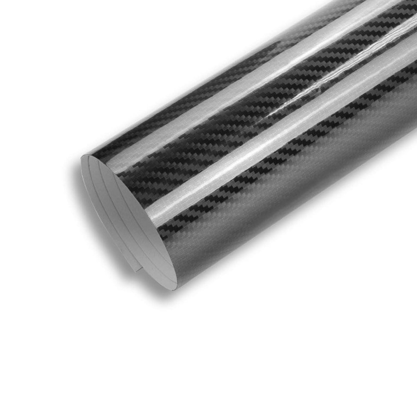 TECKWRAP 1ft x 5ft 5D High Gloss Black Carbon Fiber Vinyl Bubble Free Air Release Car Wrap Film Automotive DIY Decals u105336829060119